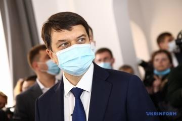 露によるウクライナ憲法改正要求につき、宇国会議長「私たちが自分で決めること」