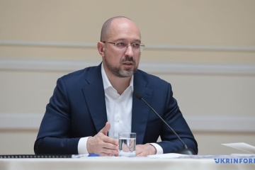 Premier Szmyhal - Kwestia zaopatrzenia w wodę Krymu nie jest na porządku obrad