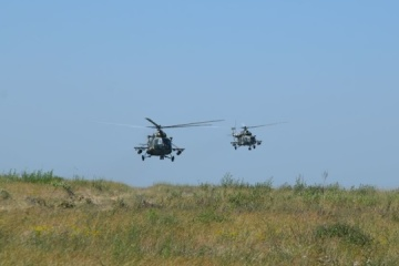 Helicópteros, artillería, fuego real: Ejercicios militares a gran escala realizados en la región de Donetsk