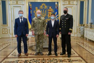 ゼレンシキー大統領、ネイジュパパ少将を海軍司令官に任命