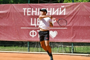 Визначилися півфіналісти тенісного турніру UTF Gentelmen Invitational