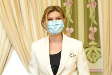 Ukrainian president's wife contracts coronavirus