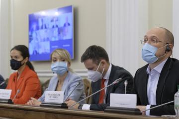 Denys Chmygal et les représentants de la BERD ont discuté de l'investissement dans la construction de routes ukrainiennes