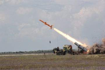"""Fuerzas Armadas de Ucrania realizan pruebas de """"Neptune"""""""