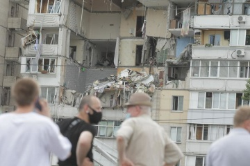 Explosion at Kyiv building: rescuers find fifth dead body under rubble