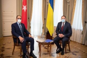 W Biurze Prezydenta odbyło się spotkanie delegacji ukraińskiej i tureckiej