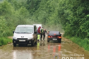 Bad weather leaves 73 populated areas flooded, destroys six bridges in Ivano-Frankivsk region