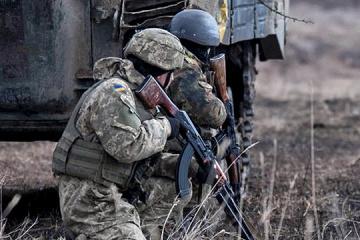 Ocupantes disparan con lanzagranadas contra las posiciones de las Fuerzas Armadas cerca de Orikhove