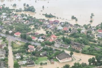 La Bucovine souffre des inondations
