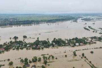 PM Shmyhal, Minister Avakov perform monitoring of flood-hit areas in Western Ukraine