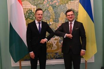 Treffen der Außenminister der Ukraine und Ungarns in Kyjiw: Was auf der Agenda steht