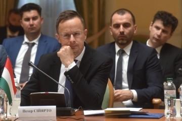 Szijjártó reaffirms Hungary's intention to block NATO-Ukraine Commission meetings