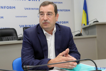 Vadym Skibitsky, representative of Main Intelligence Directorate of Ukrainian Defense Ministry