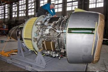 Antonov muestra la construcción del avión An-178 para el Perú