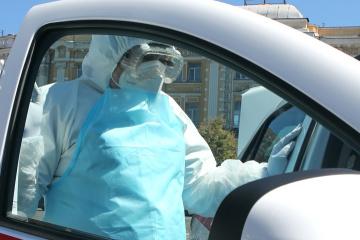 Ukraine reports 4,923 new coronavirus cases