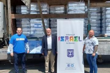 Israel envía ayuda a las víctimas de inundaciones en Ucrania