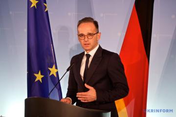 【宇独外相電話会談】ドイツはウクライナ・ロシア国境の状況を注視している=独外相