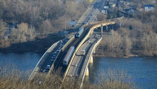 Anonyme Bombendrohung: Metro-Brücke in Kjyiw für Verkehr gesperrt