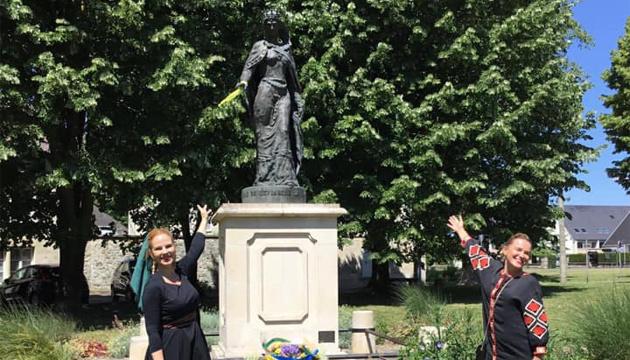 У Франції вшановують Анну Київську – першого українського дипломата у Європі