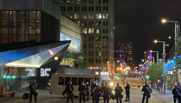 Поліція розганяла протести у Монреалі сльозогінним газом
