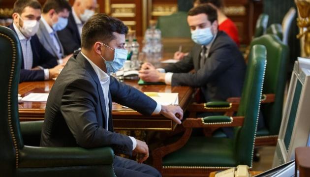 Зеленський: Україні вдалося непогано пройти першу хвилю пандемії