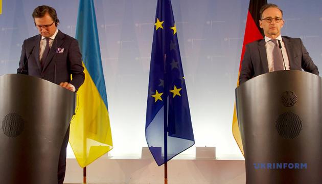 Німеччина підтримуватиме Україну в Раді ЄС — Маас