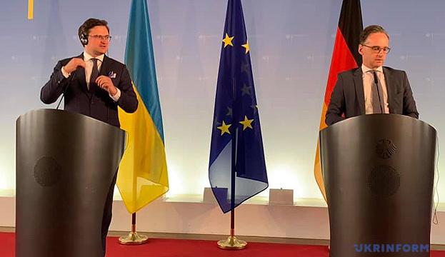 """Кулеба поговорив з Маасом про """"Норманді"""" та ситуацію у Білорусі"""