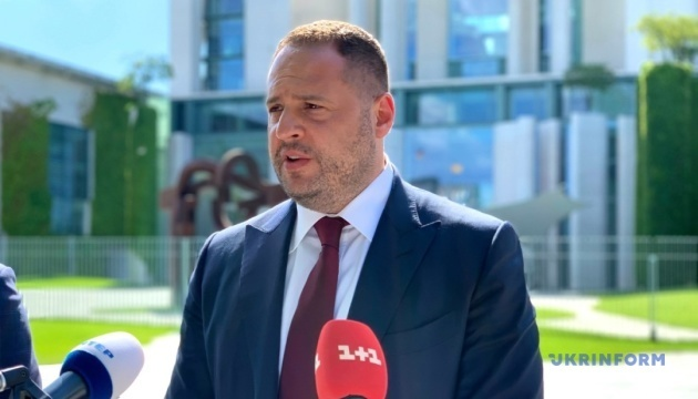 Yermak, Merkel's advisers discuss intensifying negotiations on Donbas, bilateral cooperation