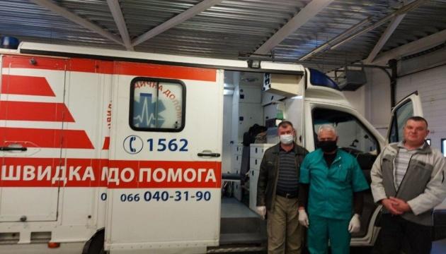 В Украину доставили тяжело травмированного в Эстонии участника АТО