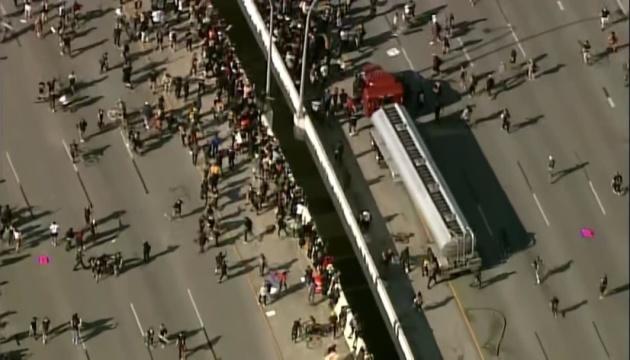 В США отпустили Богдана Вечирко, который въехал на бензовозе в толпу протестующих
