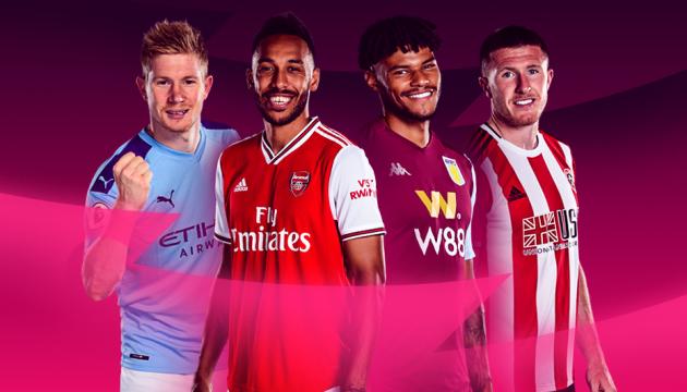 Став відомий розклад матчів футбольної Прем'єр-ліги Англії до 2 липня