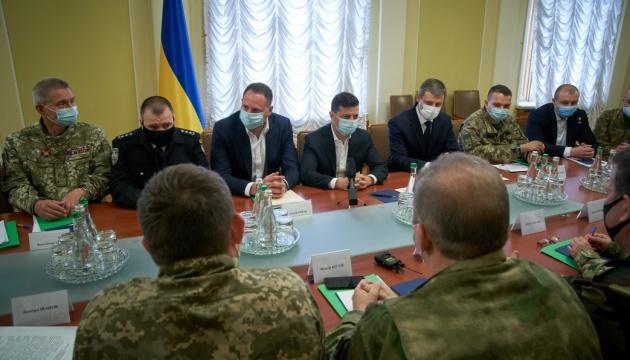 Зеленський взяв участь у першому засіданні Консультативної ради у справах ветеранів