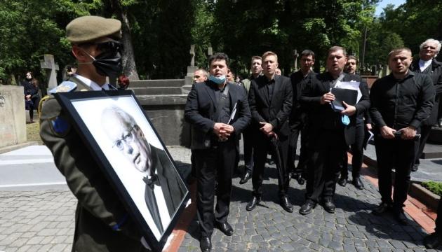 У Львові поховали композитора Мирослава Скорика