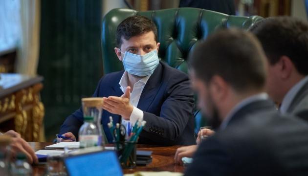 Зеленський нагадав, що коронавірус нікуди не зник