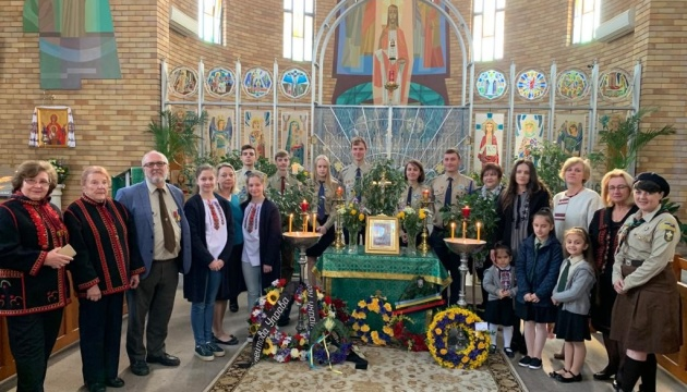 В Австралії вшанували пам'ять усіх, хто загинув за Україну