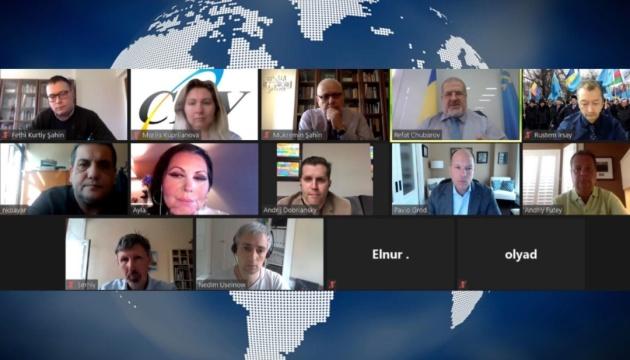 Провід СКУ зустрівся з Чубаровим та лідерами Світового конґресу кримських татар