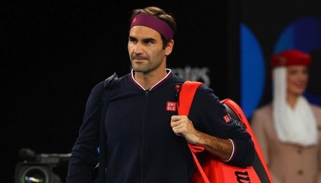 Федерер в 2020 году на корт не вернется
