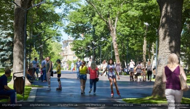 У Харкові після реконструкції відкрили Молодіжний парк з історичною спадщиною