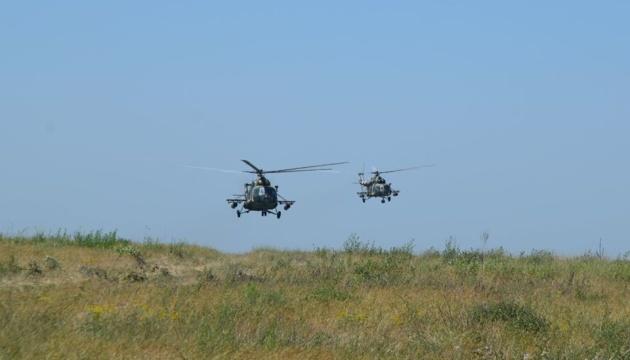 2-tägiges Manöver der Vereinigten Kräfte im Donbass