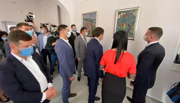 Разумков в Мукачево открыл Дворец культуры и искусств