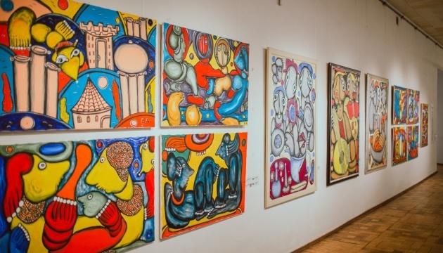 Виставка «Космос Емми Андієвської» запрошує любителів українського мистецтва