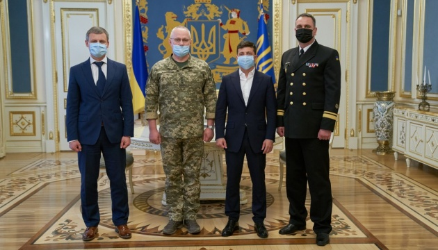 Зеленський призначив командувача ВМС