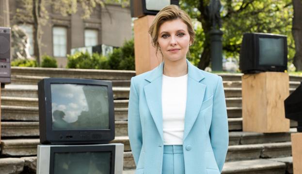 Олена Зеленська розповіла, як обирає з чоловіком подарунки іноземним лідерам