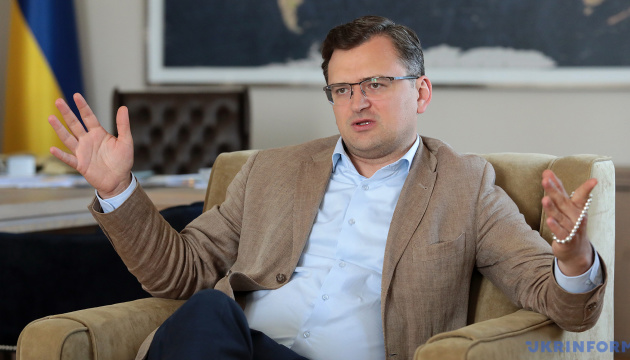 Kuleba enlists North Macedonia's support for Ukraine's NATO and EU integration