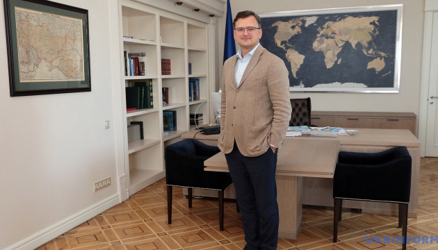 FM Kuleba invites France to join Crimean Platform