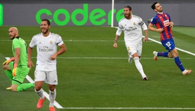 Ла Ліга: «Реал» легко обіграв «Ейбар»