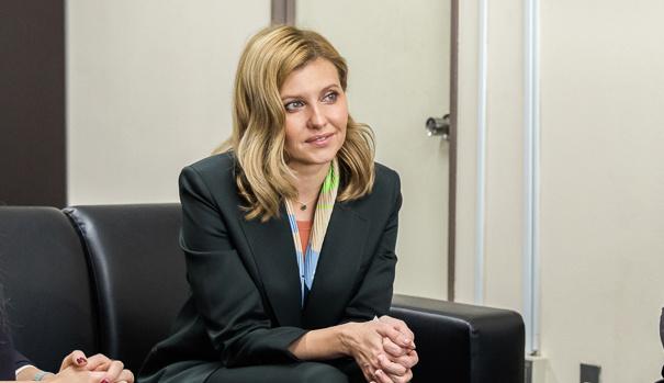Covid-19 : la Première dame d'Ukraine hospitalisée