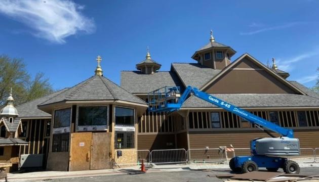 У США завершують будівництво нової української церкви