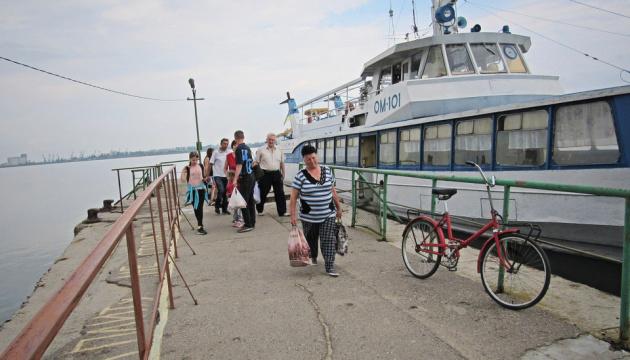 У Миколаєві з 16 червня відновили річкові перевезення