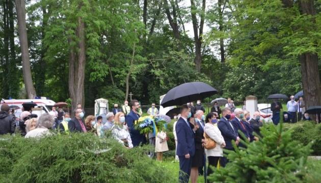 У Перемишлі вшанували пам'ять вояків УНР, які боролися за українську державу
